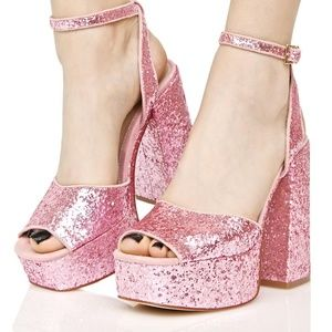 Shellys London DENA SPARKLE PLATFORMS
